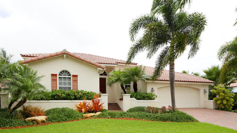 Exterior of a home in South Florida