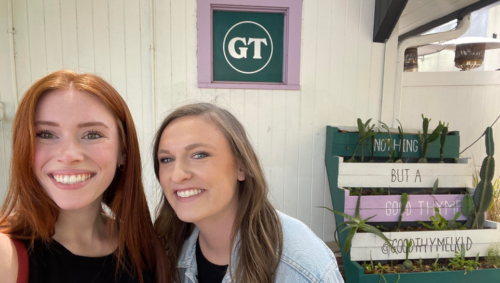 Rilee and Katelyn at Good Thyme Lakeland.